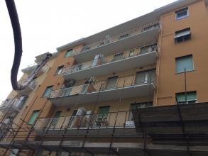 La facciata con il cantiere | sicedil.com | SicEdil Srl